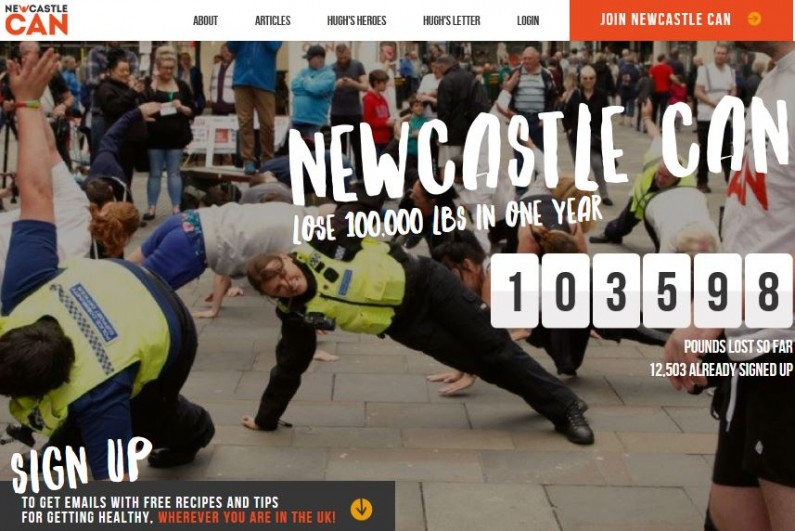 newcastle can webpage
